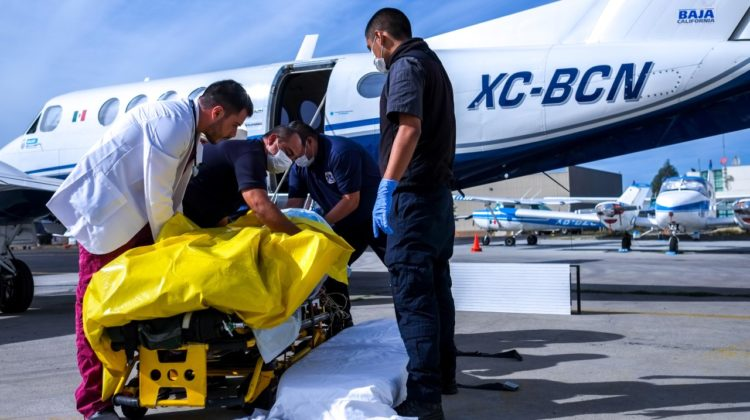thumbnail_Traslado ambulancia aérea Gob Edo-1